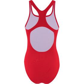 speedo Essentials Endurance+ Medalist Swimsuit Women fed red